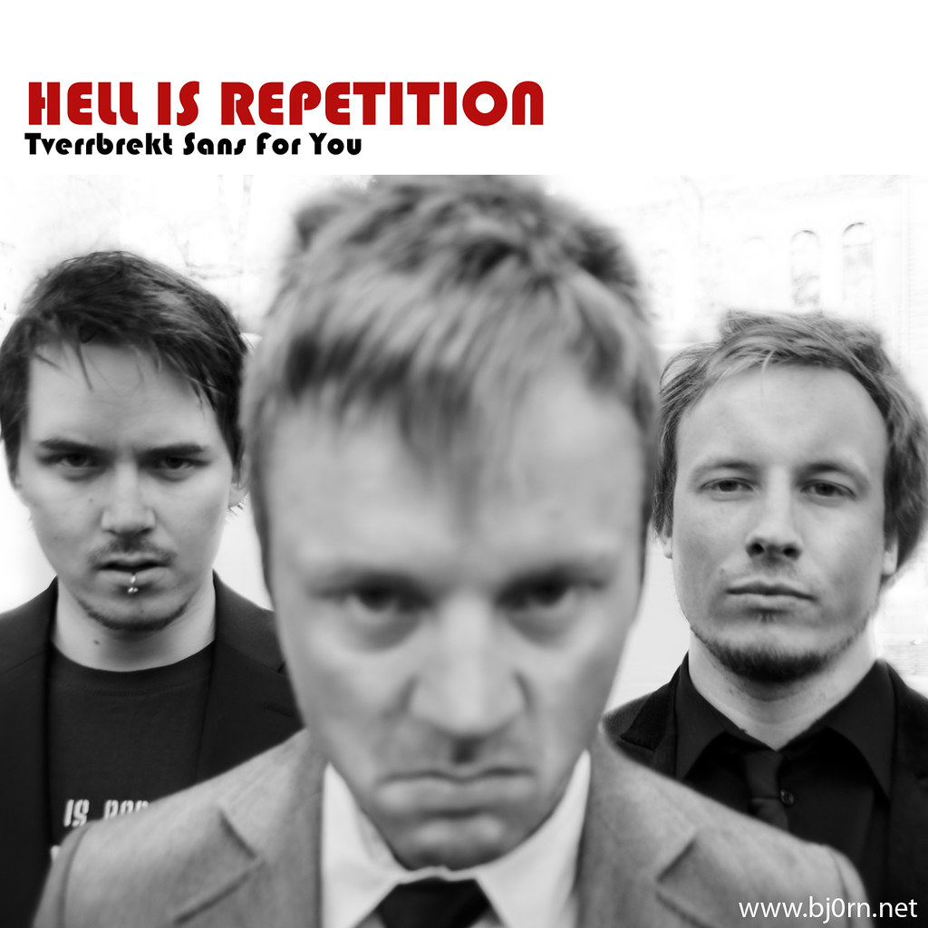 Foto: Bjørn Christiansen, Hell is Repetition, Eirik Tiller, Christopher Iversen, Håvard Felberg