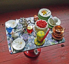 It's Always Tea-Time Table ~ 1:12 Scale