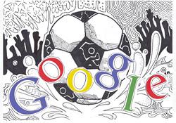 الفائز في مسابقة Doodle 4 Google 'أنا أحب كرة القدم'