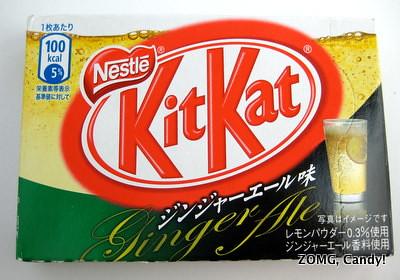 Kit Kat Ginger Ale