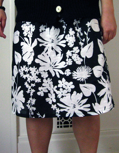 Sew U linen skirt