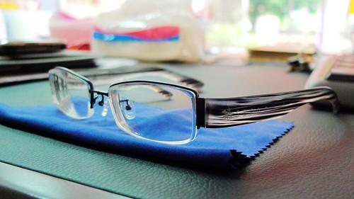悅夢床墊老大送的眼鏡