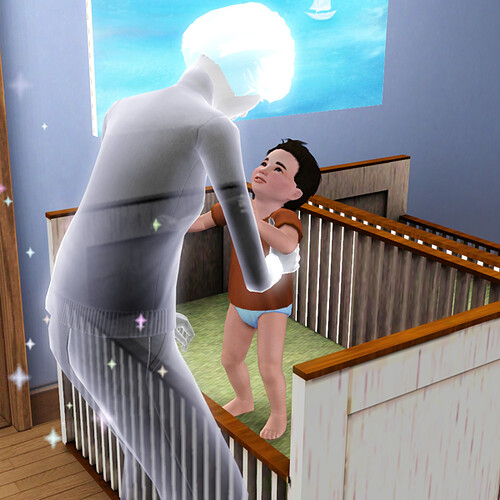 I love ghost babysitters