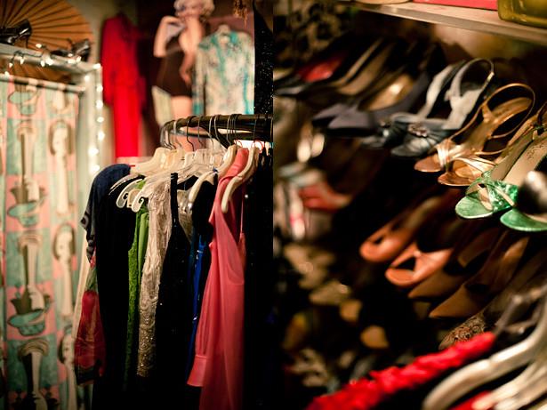 Bon Ton horizontal collage womens dresses and shoes