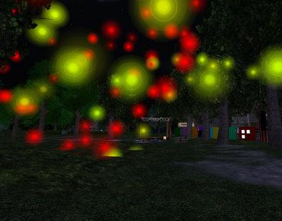 Virtual Fire Flowers