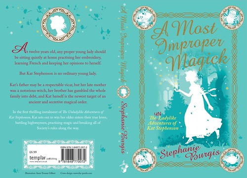 UK cover for A MOST IMPROPER MAGICK