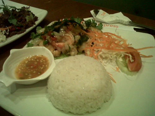 Phat Thai Beef Thai Express