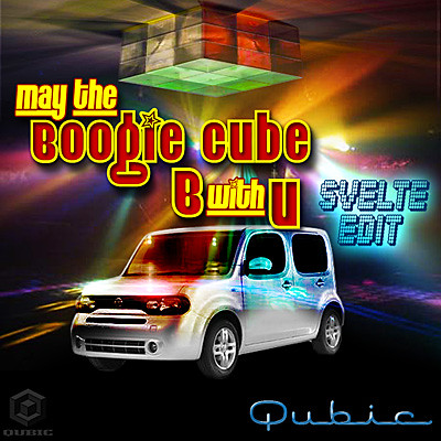May the Boogie Cube B with U (Svelte Edit)