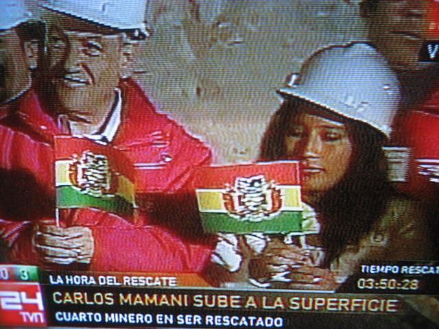 minero Boliviano Carlos Mamani Sebastián Piñera