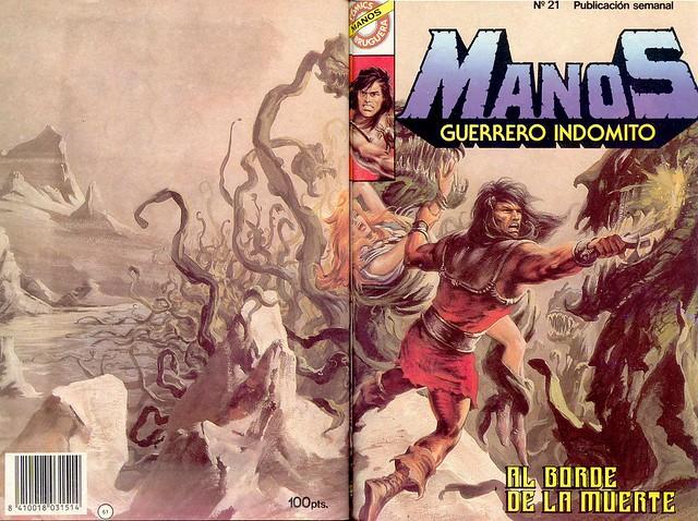 Manos Guerrero Indomito, Cover #21