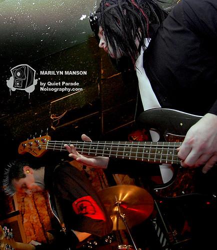 Quiet Parade as Marilyn Manson 03