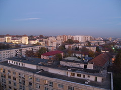 Iași at dusk -- PA291189
