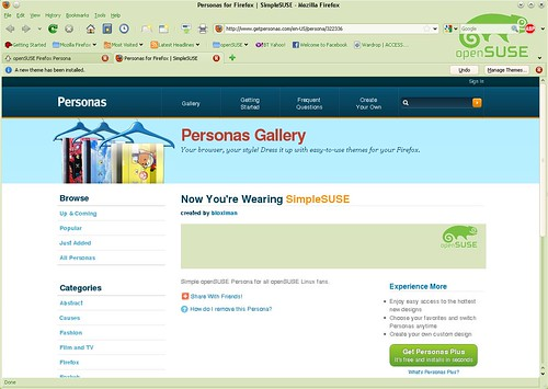 openSUSE Firefox Persona 5131812210_5520a44b75