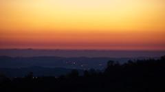 Sunrise in San Marino Republic - 1st NOV. 2010 by iz4aks