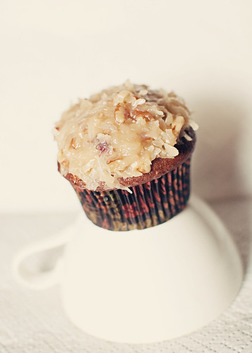 cupcake of the month.7: German Chocolate