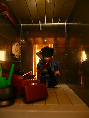 Going Postal. (Lego Junkie.) Tags: war lego going larry postal brickarms