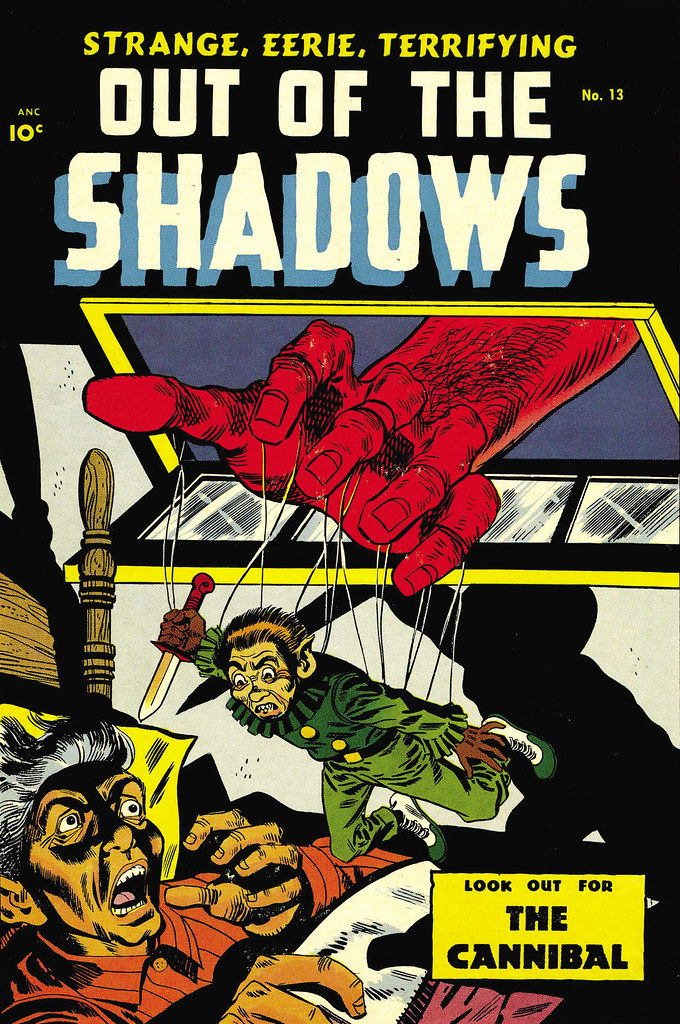 Out Of The Shadows #13 George Roussos Cover Art