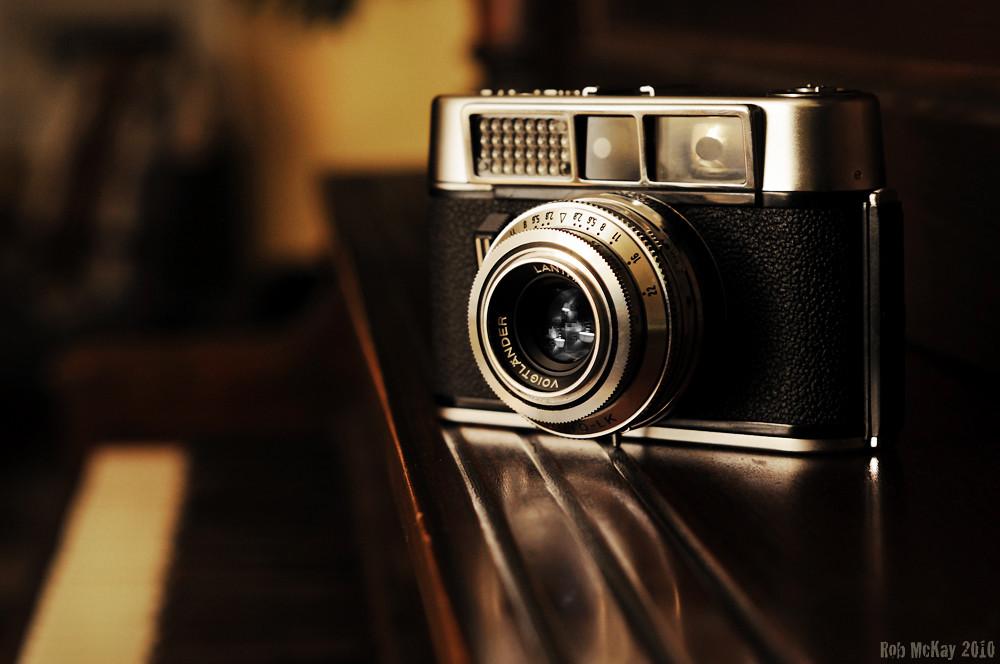 Voigtländer Vito CLR rangefinder film camera