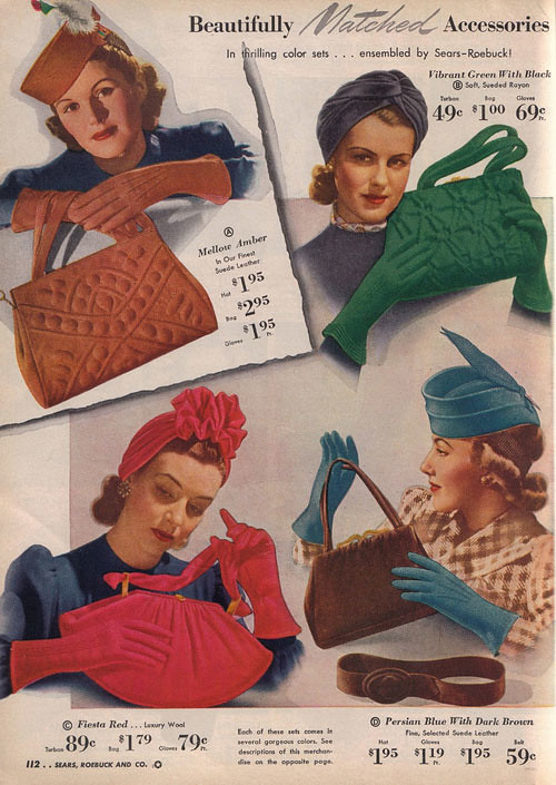 1940s Accessories