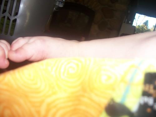 Moira's feet