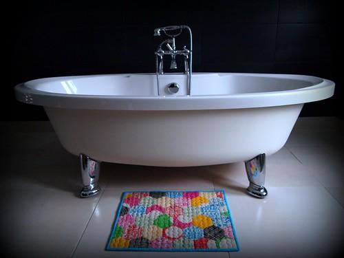 Hexy Bath Mat
