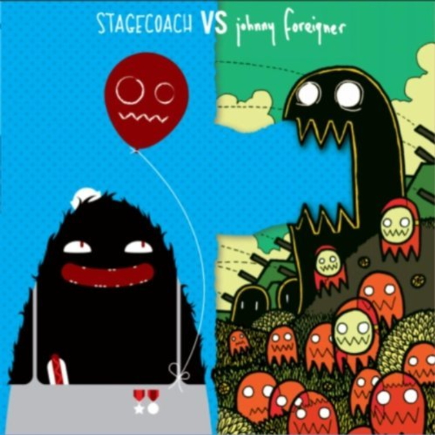 Johnny Foreigner / Stagecoach split