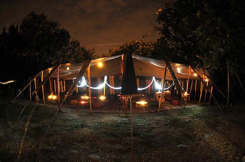Location tente Khaima - Afriqu'à Muret 2011