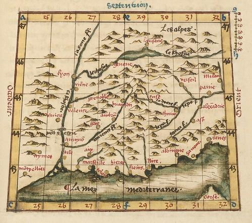 Le sphere du monde by Oronce Fine, 1549 h