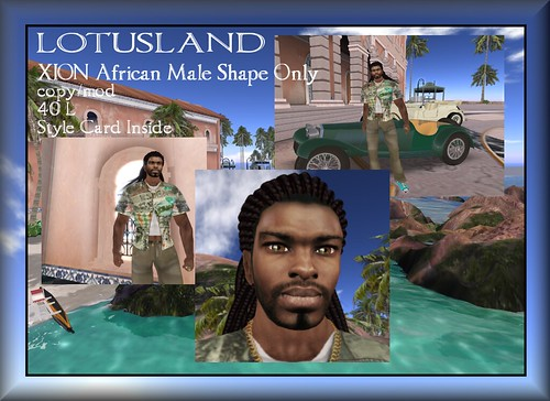 Lotusland XION African Male Shape