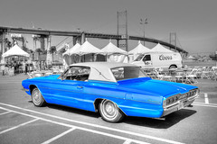 Cars and Stripes Forever San Pedro, Ca. USA June 30th 2017 (JCD Images) Tags: carsandstripesforever portoflosangeles classiccars lowriders exoticcars 4thofjulyweekend losangeles sanpedro southbay california autoshow carshow june 2017 cars autos automobile street autocarclub chrome rims custompaint selectivecolor 1965 ford thunderbird