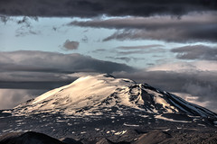 Hell's Gateway - Mt. Hekla Volcano (peterjcoughlan) Tags: active activity ash beauty clouds crater earth eruption ground hekla hell hiking iceland landmannalauger landscape lava location mountain nature outdoors photography rhyolite rocks scenic sky snow terrain volcano