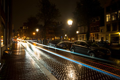 July 01, 2017.jpg (pavelkhurlapov) Tags: cobblestone cityscape traces reflections lights parked cars buildings lampposts rain night