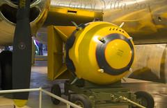 Fat Man (Evo1ve) Tags: museumoftheusairforce museum airforcemuseum atomicbomb bomb fatman nagasaki