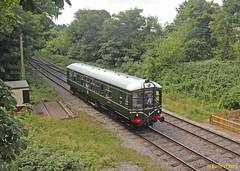 BR Derby Lightweight Diesel Railcar (DMBS) M 79900 Wirksworth July17 2 (Copy) (focus- transport) Tags: ecclesbourne valley railway wirksworth station br lms class 3f jinty 47406 derby lightweight diesel railcar dmbs m 79900