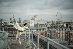 Beyond the stage: striking images of Royal Ballet dancers taken around London