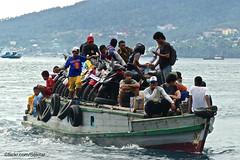 Boat from Rum, Tidore, to Pulau Ternate (Sekitar) Tags: indonesia maluku utara malut provinsi ternate pulau island moluccas molukken insel boat rum tidore earthasia