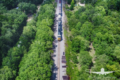 CSX Train_DJI_0063 (RJJPhotography) Tags: djiphantom4pro dji aerials csx train transportation georgia southerngeorgia