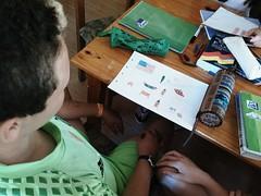 Día 4 . Empezamos a decorar nuestros cuadernos 09