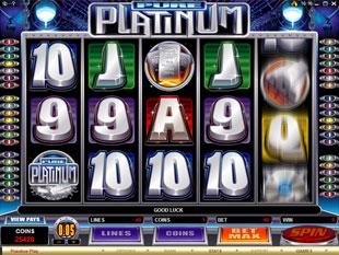 Pure Platinum slot game online review