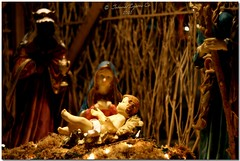 The Wondrous Gift (JoLiz) Tags: christmas wood family baby joseph lights three infant christ mary philippines jesus birth scene holy kings manger filipino hay creche bethlehem twigs nativity belen pinoy