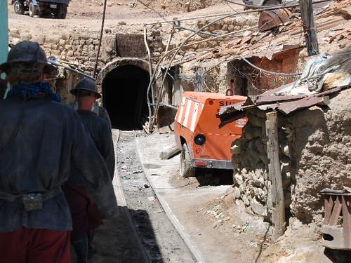 Potosi Mine Entrance