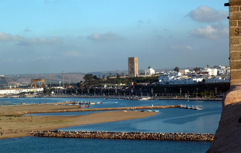 Vista de Rabat desde la Casbah