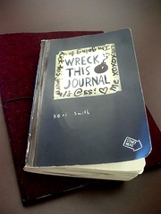 Kerri Smith's Wreck This Journal Project