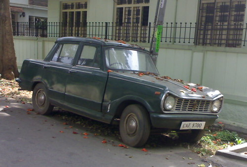 Early 70s Standard Gazel mk1, Bangalore, India