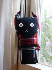 A Plush A Day Challenge! Day 23 - The Tartan Terror