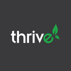 Thrive Logo (I Bought a Mac) Tags: green logo grey community inspire thrive