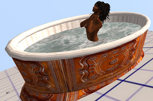 25L Tuesday The Great Serve bathing tub