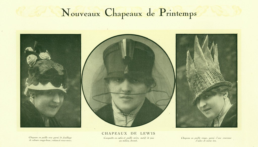 New Hats for Spring (Chapeaux de Lewis)