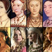 Six Wives Potraits & Portrayals on the Tudors