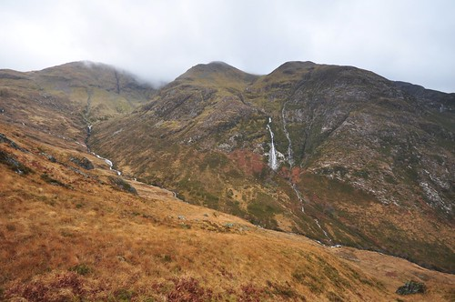 The North side of Aonach Eagach